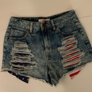 Refuge Patriot Jean Shorts